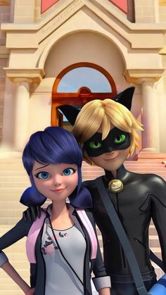 anime girlsss - Movie Tutorial and Ideas Catnoir And Ladybug, Ladybug Und Cat Noir, Miraculous Ladybug Wallpaper, Miraculous Ladybug Fan Art, Mlb Wallpaper, Disney Wallpaper, Character Design Cartoon, 3d Character, Character Concept