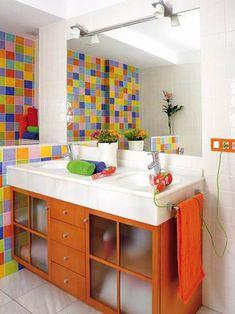 Baños a todo color