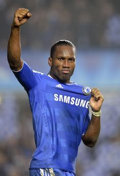 Didier Drogba will begin his second spell at Chelsea next season after agreeing a one-year deal with Jose Mourinho's side. The striker and Blues . Chelsea Fans, Chelsea Football, Football Soccer, Football Things, Legends Football, Fifa, English Premier League, Best Player, Football Players