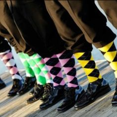 Our groomsmens socks!!!
