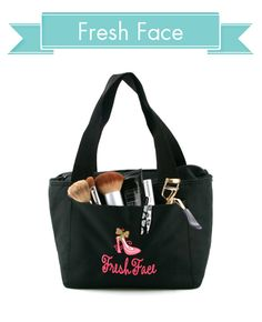 Makeup Bag--great use for a Charlie's Lunchbox!
