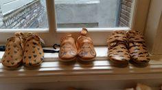 Lieve baby schoentjes van easy peasy bij Mint Mini Mall