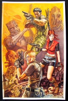 #ResidentEvil (Dan Brereton) Comic Art #RE