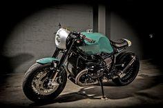 Green Scot - VTR Customs DBR9T Cafe Racer ~ via returnofthecaferacers.com