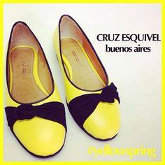 #CruzEsquivel #yellowspring #yellow #flats #chatitas #amarillo #primavera #weloveballerinas #ballerinas #amarilloynegro #buenosaires