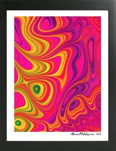 Atomic Print 13 -  Bold Colorful Abstract Giclee Art by Debra Ann of AtomicMobiles.com #abstractart #abstract #colorful #boldcolor #homedecor #homedecorideas #modernart #midcentury #midcenturymodern #atomic #atomicart #atomicera #atomicmobiles
