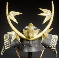 Forty two plate suji bachi kabuto By Myochin Nobuiye, dated Tenbun Samurai Helmet, Helmet Armor, Samurai Armor, Arm Armor, Samurai Costume, Japanese Warrior, Japanese Sword, Sword Hilt, Fantasy Inspiration