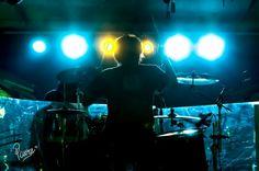 Man behind the drum