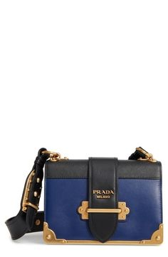 46c25a7832a6 Prada Cahier City Calfskin   Saffiano Shoulder Bag