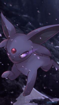 Espeon by AutobotTesla on DeviantArt! Umbreon And Espeon, Pokemon Eeveelutions, Eevee Evolutions, O Pokemon, Pokemon Fan Art, Cute Pokemon Wallpaper, Original Pokemon, Cute Animal Drawings, Pokemon Pictures