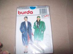 Burda Coat Sewing Pattern burda 4426 by vintagecitypast on Etsy