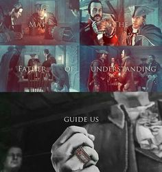 Haytham Kenway Assassin's Creed May the father of understanding guide us