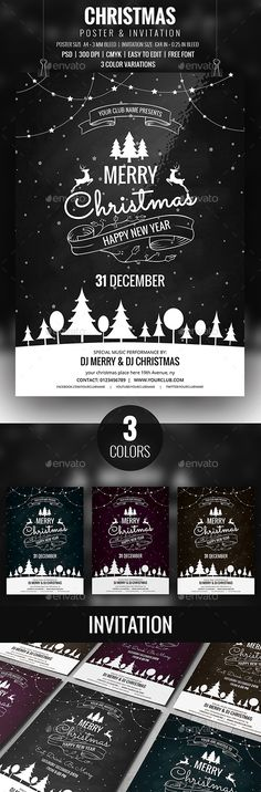 Merry Christmas Flyer Templates Christmas flyer, Flyer template - discount flyer template