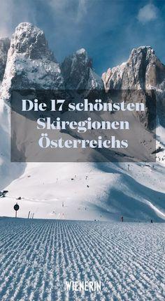 In #Österreich können #Wintersportler und Schneehasen so einiges erleben. Welche #Ski-Gebiete aber zählen zu den heimischen #Hotspots? Und was bekommen Urlauber dort geboten? Wir haben die Antworten! Best Skis, Ski Vacation, Europe, Snow Mountain, Travel And Leisure, Land Scape, Austria, The Good Place, Skiing