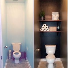 22 Ideas bath room black toilet wall colors for 2019 Toilet Room Decor, Small Toilet Room, Toilet Wall, Small Toilet Decor, Toilet Paper, Downstairs Bathroom, Small Bathroom, Bathroom Black, Bathroom Ideas