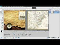 ▶ Photoshop Elements 12 tutorial: Introducing layers | lynda.com - YouTube Photoshop Video, Learn Photoshop, Photoshop Photography, Photography Tutorials, Photography Ideas, Photo Elements, Photo Editing, Editing Photos, Tutorials