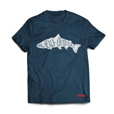 Halieus Scribble T-Shirt. Modern Fishing Apparel For the Modern Angler Fishing Outfits, Fishing T Shirts, Best Wear, You Look Like, Scribble, Bait, Trout, Salmon, At Least