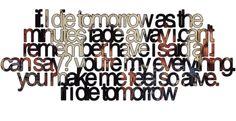 motley crue lyrics if i die tomorrow | If I Die Tomorrow-Motley Crue