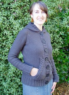 grey grown-up hoodie front view by kira_dulaney, via Flickr