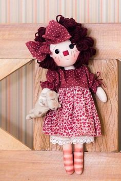 Pequena Annie e seu gatinho malhado (kit completo)