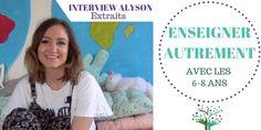 Enseigner autrement à l'école publique avec les 6-8 ans – Interview vidéo ALYSON Public, Interview, State School, Teaching