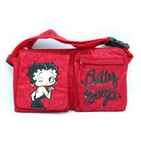 FREE SHIPPING WITHIN THE CONTINENTAL USA  - Betty Boop® officially licensed - Top zippered main compartment - Lined interior with 1 zippered pocket, 1 cell phone pouch, 1 pocket - Back wall zippered pocket -2 front pockets - Approximate Dimensions...