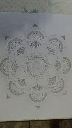 2 - Maicom Bernardino Arcenio #mandala #drawing