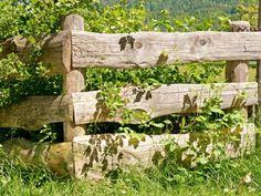 Cloture jardin bois pour un extérieur tout naturel