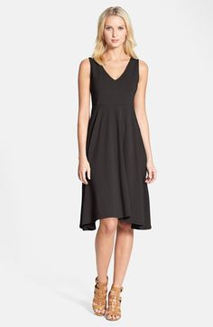 Eileen Fisher Sleeveless Jersey Dress available at #Nordstrom $158
