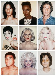 by Andy Warhol Pop Art Artists, Famous Artists, Art Marilyn Monroe, Andy Warhol Art, Andy Warhol Portraits, Polaroid, Arte Pop, American Artists, Art Photography