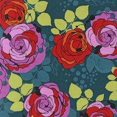 This line of fabric will be my reward for finishing my HST quilt Talk about incentive! Rebecca Bischoff - Blythe - Roses in Park
