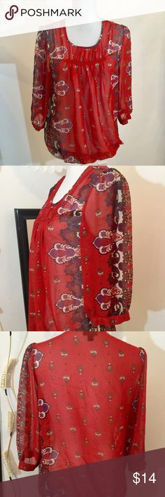 Mission bindi print top Size M Mossimo Supply Co Tops