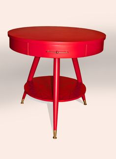 Alita Table Mid Century Table by Omforme on Etsy, $325.00