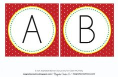 free back to school printables alphabet banner