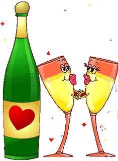 Happy New Year 2020 Gif Picture - Altinpara New Year Wishes Images, New Year Pictures, Gif Pictures, Bon Mardi Humour, Naughty Emoji, Kiss Me Love, Foto Gif, New Year Art, Smile Gif
