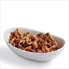 Sweet Chipotle Snack Mix Recipe - great for apres hike!