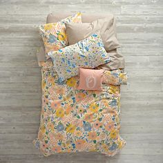Shop Floral Rush Bedding.  Looking for floral bedding that's always in bloom? Our Floral Rush Bedding is ready to freshen up any bedroom in your home.  It features a colorfully printed flower design and comfy 100% cotton construction.
