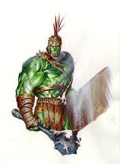 Planet Hulk by butones.deviantart.com on @deviantART #Hulk #PlanetHulk #Marvel