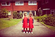 Twins by Mark Shearwood for Milk magazine, styling Rachel Caulfield for winter 2012