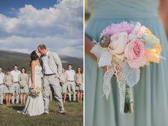 Whimsical Colorado Ranch Wedding: Lauren + Nate
