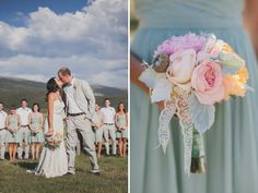 Whimsical Colorado Ranch Wedding: Lauren + Nate
