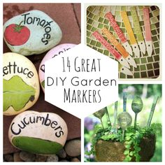 14 Great DIY Garden Markers