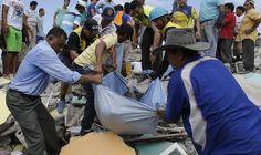 Videogalería | Un terremoto de 7,8 sacude Ecuador | Vídeos | EL PAÍS