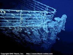 Photos de l'épave du Titanic