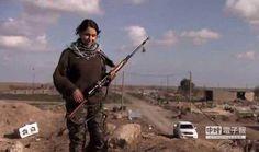 小學女老師變狙擊手 前線抗IS