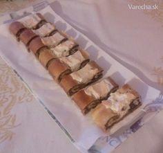Štedrák ako závin (fotorecept) Sushi, Pie, Ethnic Recipes, Desserts, Food, Basket, Torte, Tailgate Desserts, Cake