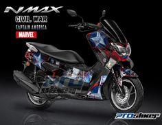Ini dia inspirasi desain striping Yamaha Nmax full body buat kalian yang sedang bingung memodifikasi tunggangannya. Semua koleksi stiker yan...