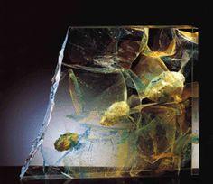 Cast Art, Glass Ceramic, Art Plastique, Czech Glass, Fused Glass, Sculptures, Art Gallery, It Cast, Art Work