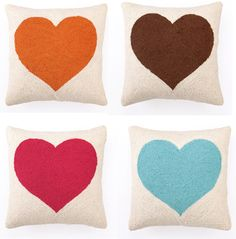 Sweetheart Hook Pillow By Modern Chic Home 62$