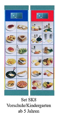 Flocards Set SK 8 Ernährung